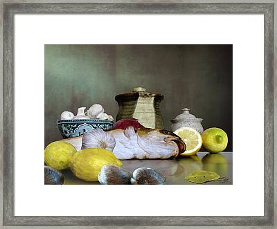 Fish Chef's Table Framed Print by IM Spadecaller
