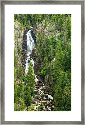 Fish Creek Falls Framed Print by Adam Pender