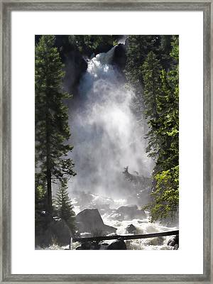 Fish Creek Falls Framed Print