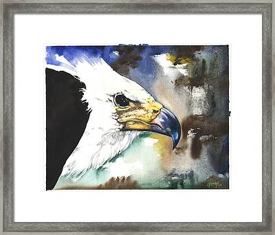 Fish Eagle II Framed Print