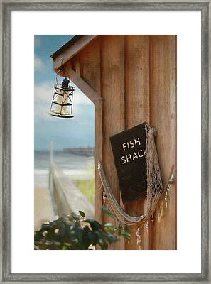Framed Print featuring the photograph Fish Fileted by Lori Deiter