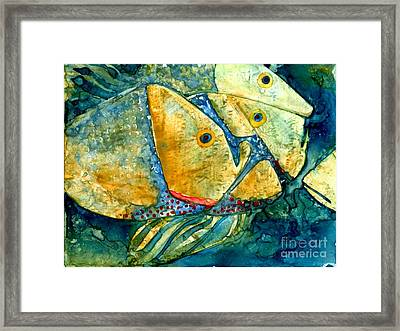 Fish Friends Framed Print