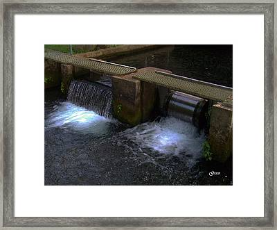 Fish Hatchery At Bennett Springs Framed Print by Julie Grace