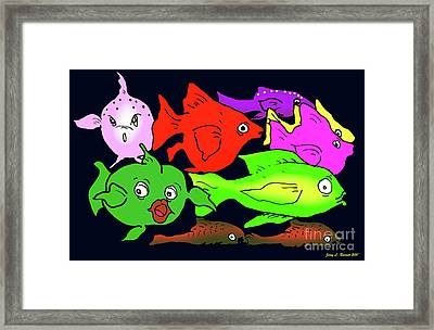 Fish Framed Print by Jerry L Barrett