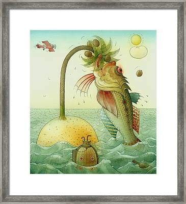 Fish Framed Print by Kestutis Kasparavicius