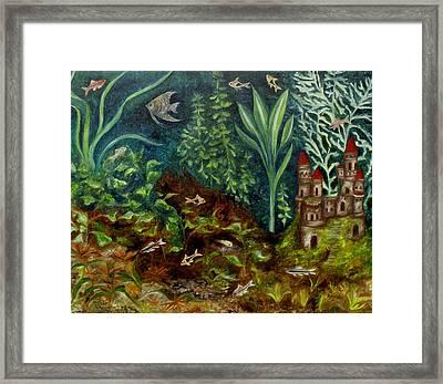 Fish Kingdom Framed Print