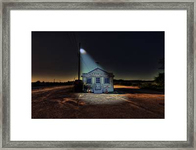 Fish Market Cape Cod Framed Print