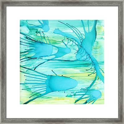 Fish N Shrimp Framed Print