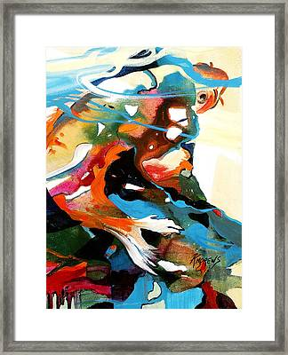 Fish Patterns Framed Print
