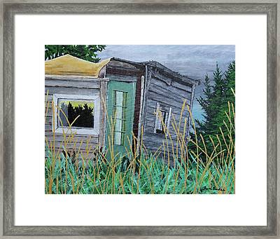 Fish Shack Framed Print