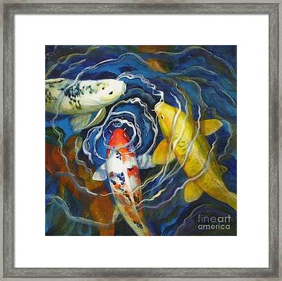 Fish Soup Framed Print by Pat Burns