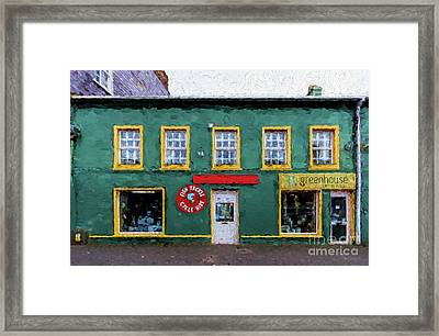 Fish Tackle Store Framed Print