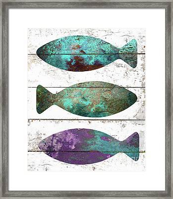 Fish Tales II Framed Print