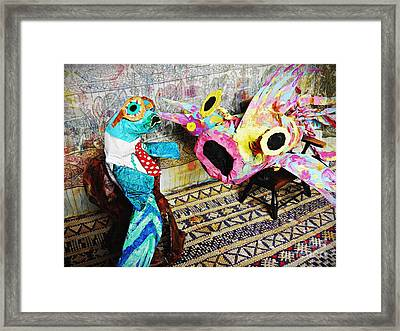 Fish Therapy Framed Print by Sarah Loft