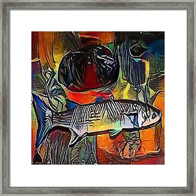 fish - My WWW vikinek-art.com Framed Print by Viktor Lebeda