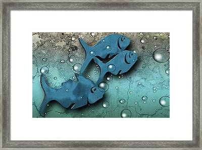 Fish Wall Framed Print