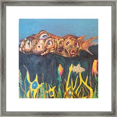 Fish Framed Print by William Douglas
