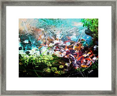 Fishbowl Framed Print by Rahoul Chauhaan