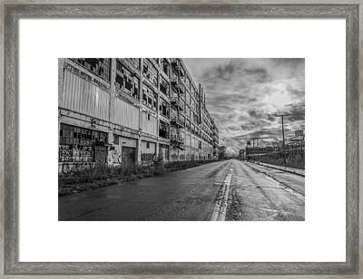 Fisher Body In Black And White  Framed Print
