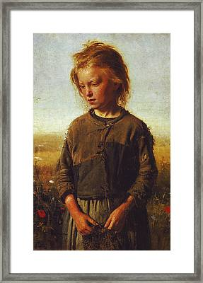 Fisher Girl Framed Print
