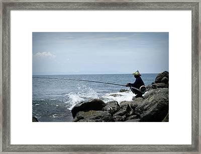 Fisherman 2  Framed Print