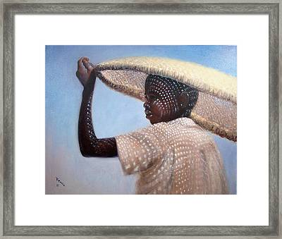 Fisherman  Framed Print by Donelli  DiMaria
