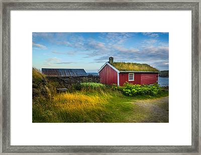 Fisherman House Framed Print
