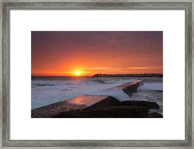 Fisherman's Beach Framed Print