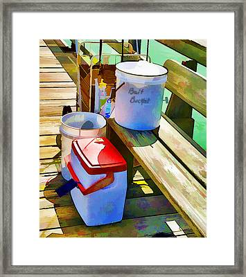Fisherman's Buckets Framed Print