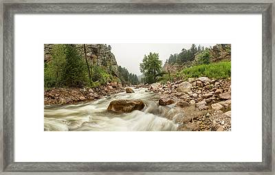 Fisherman's Panorama Colorado Canyon View Framed Print by James BO  Insogna