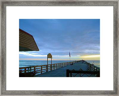 Fisherman's Paradise Framed Print