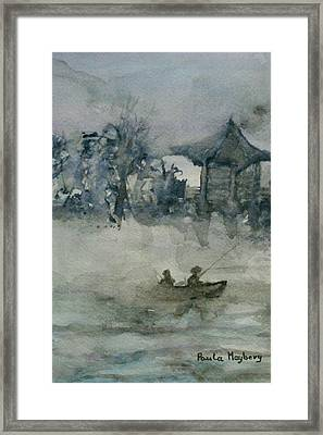 Fishermans Rest Framed Print