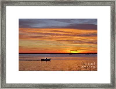 Fisherman's Return Framed Print