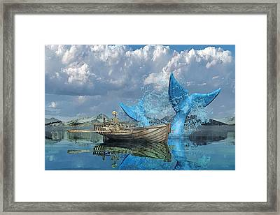 Fisherman's Tale Framed Print by Betsy Knapp