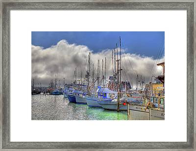 Framed Print featuring the photograph Fisherman's Wharf by Donna Kennedy