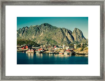 Fishermen Have Gone Framed Print