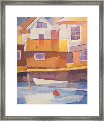 Fishermen Village Framed Print by Lutz Baar
