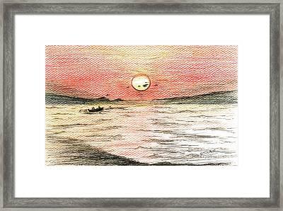 Fishermen's Glory Framed Print