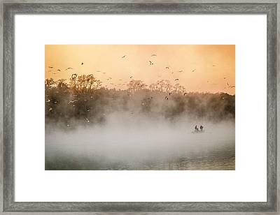Fisher's Delight  Framed Print