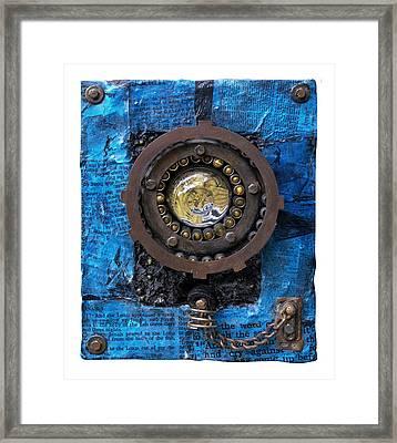 Fisheye Noah Framed Print by Scott Rolfe