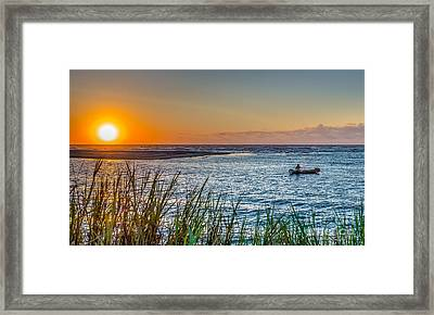 Fishing At Pawleys Framed Print