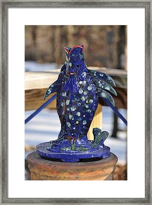 Fishing Blues Framed Print by Terry Anderson