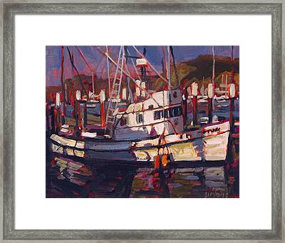 Fishing Boat Framed Print by Brian Simons