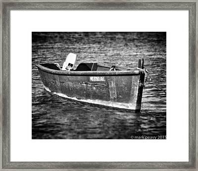 Fishing Boat Cape Cod Framed Print