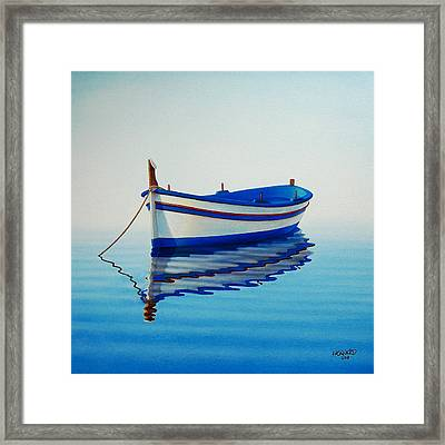 Fishing Boat II Framed Print by Horacio Cardozo
