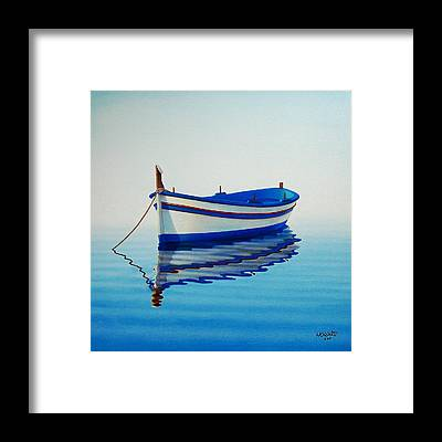 Boats Framed Prints