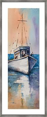 Fishing Boat Framed Print by Mary DuCharme