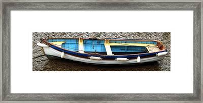 Fishing Boat Framed Print by Svetlana Sewell