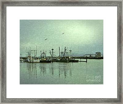 Framed Print featuring the photograph Fishing Boats Columbia River by Susan Parish