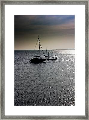 Fishing Boats Essex Framed Print